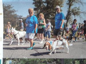 Paws in the Park 2018: Mrs  Patricia A Veronski - SPCA